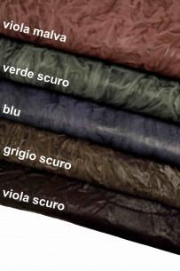 Italian leather, washed...