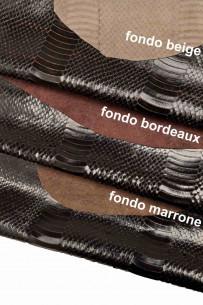 Italian leather, dark brown...