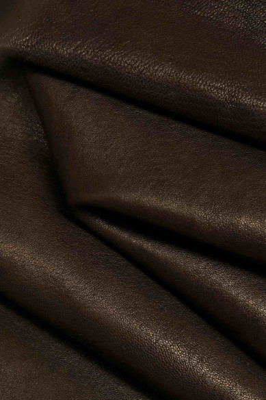quite shiny and soft available in 3 colors B10977-STF La Garzarara goat with solid color ray print with light-dark color Italian leather